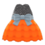 Bubble-Skirt Party Dress (Orange) NH Icon.png