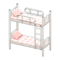 Bunk Bed (White - Checkered) NH Icon.png