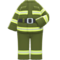 Firefighter Uniform (Avocado) NH Icon.png