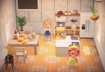 Interior of Pancetti's house in Animal Crossing: New Horizons