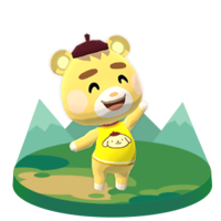 Marty, an Animal Crossing villager.