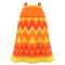 Zigzag-Print Dress (Orange) NH Icon.png