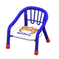 Baby Chair (Blue - Bear) NH Icon.png