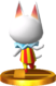Blanca SSB4 Trophy (3DS).png