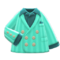 Flashy Jacket (Aquamarine) NH Icon.png
