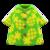 Pineapple Aloha Shirt (Green) NH Icon.png