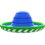 Sombrero (Blue) NH Icon.png