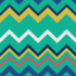 Beach Towel with the Cyan Zigzags pattern applied.