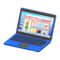 Laptop (Blue - Online Shopping) NH Icon.png