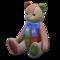 Papa Bear (Tweed - Blue) NH Icon.png