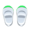 Slip-On School Shoes (Green) NH Icon.png