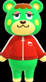 Artwork of Charlise the Bear