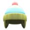 Knit Cap with Earflaps (Moss Green) NH Icon.png