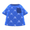 Labelle Knit Shirt (Ocean) NH Icon.png
