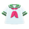 Sailor's Tee (Green) NH Icon.png