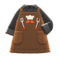 Thank-You Dad Apron (Brown) NH Icon.png
