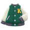 Letter Jacket (Green) NH Icon.png