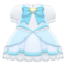 Magical Dress (Light Blue) NH Icon.png