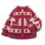 Reindeer Sweater (Red) NH Icon.png
