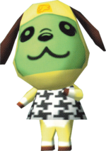 Artwork of Bow the Dog
