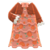 Frilly Dress (Brown) NH Icon.png