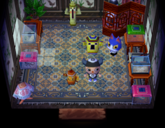 Tom's house interior
