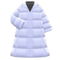 Long Down Coat (White) NH Icon.png