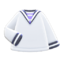 Sailor-Style Shirt (White) NH Icon.png