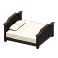 Antique Bed (Black) NH Icon.png