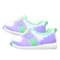 Cute Sneakers (Purple) NH Icon.png