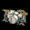 Drum Set (Pearl White - Vintage Logo) NH Icon.png