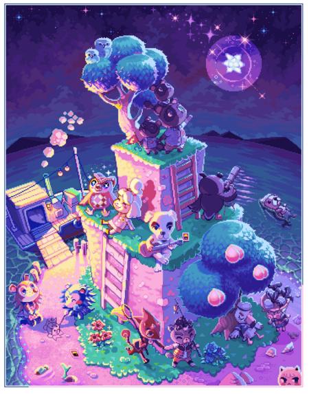 Pixel Horizons by ioruko and Neoriceisgood