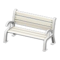 Garden Bench (White) NH Icon.png