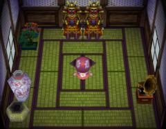 Iggy's house interior