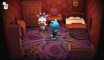 Interior of Naomi's house in Animal Crossing: New Horizons