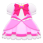 Magical Dress (Pink) NH Icon.png