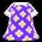 Blossom Dress (Purple) NH Icon.png
