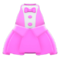 Chic Tuxedo Dress (Pink) NH Icon.png