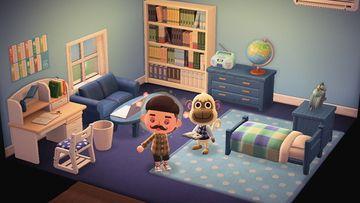 Interior of Deli's house in Animal Crossing: New Horizons