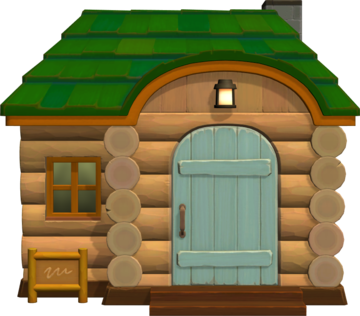 Exterior of Murphy's house in Animal Crossing: New Horizons