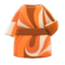 Marble-Print Dress (Orange) NH Icon.png