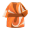 Marble-Print Dress (Orange) NH Icon.png