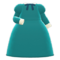 Elegant Dress (Green) NH Icon.png