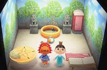 Interior of Rory's house in Animal Crossing: New Horizons