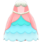 Mermaid Princess Dress (Pink) NH Icon.png