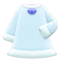 Cat Dress (White) NH Icon.png