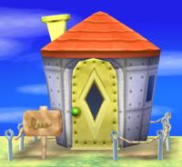 Samson's house exterior