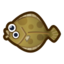 Olive Flounder NH Icon.png