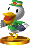 Pete SSB4 Trophy (3DS).png