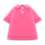 Polo Shirt (Pink) NH Icon.png
